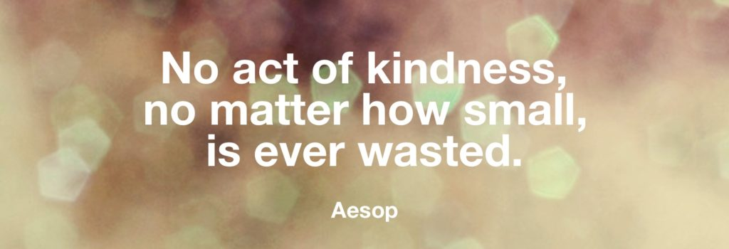 Kindness quote from Sunshine Coast Baby